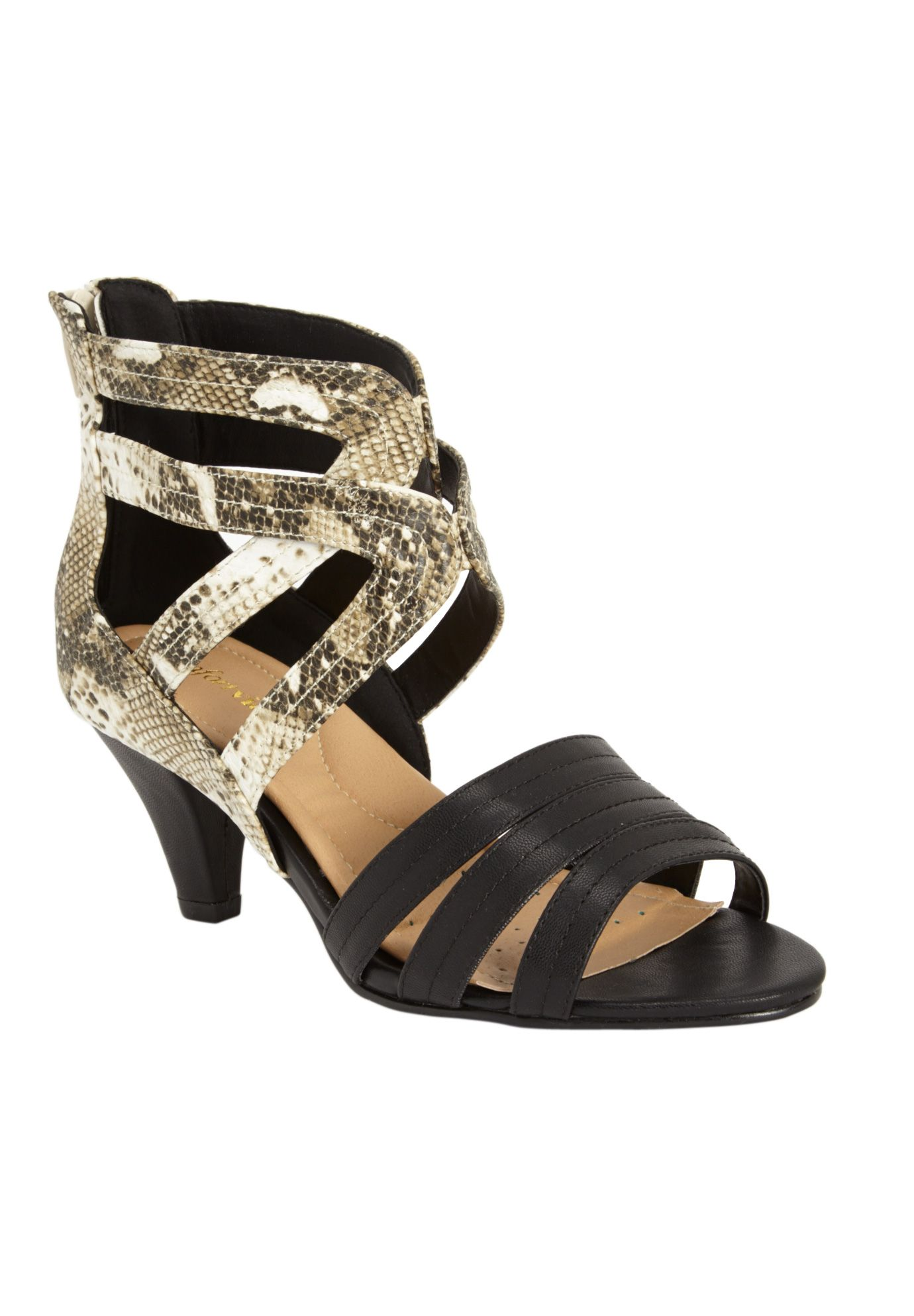 Cece Sandal by Comfortview® Womens high heels, Wide