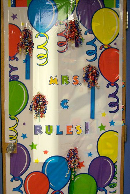 At Our School It Is A Long Standing Tradition To Decorate The Teacheru0027s Door  (or