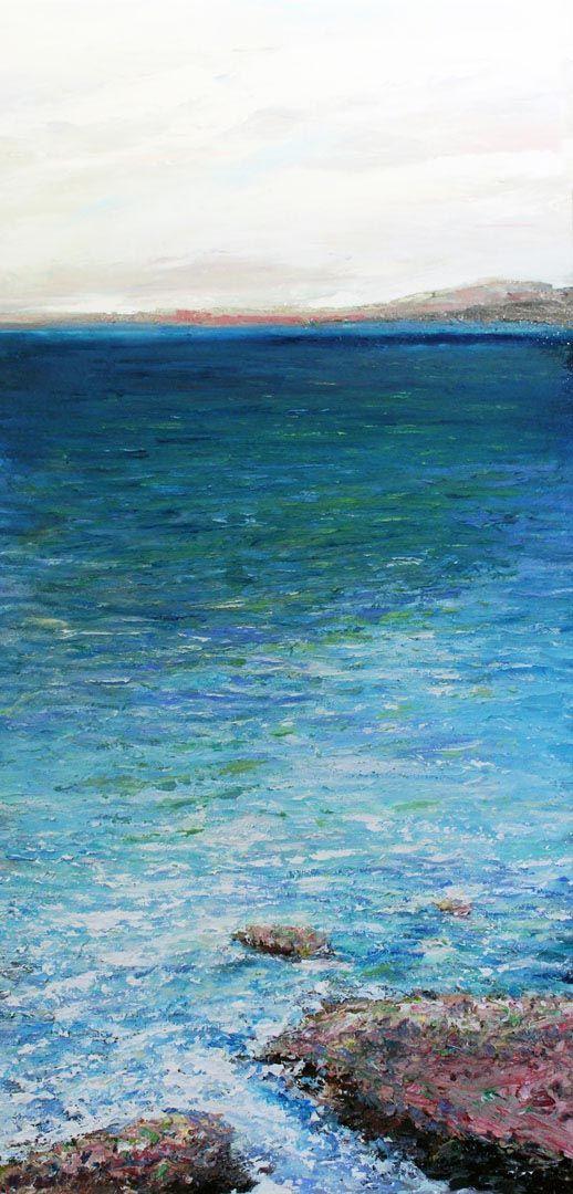 Italian Marine Painter Antonella Natalis Mare 30