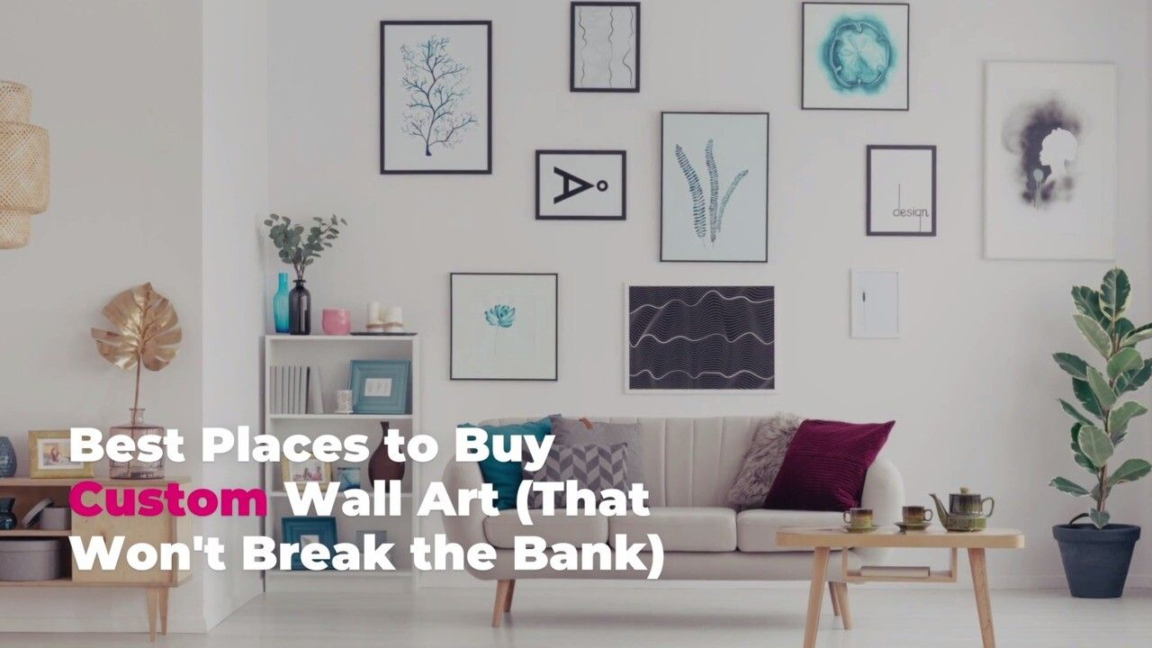 10 Best Places To Buy Custom Wall Art That Won T Break The Bank Custom Wall Art Custom Wall Wall Art
