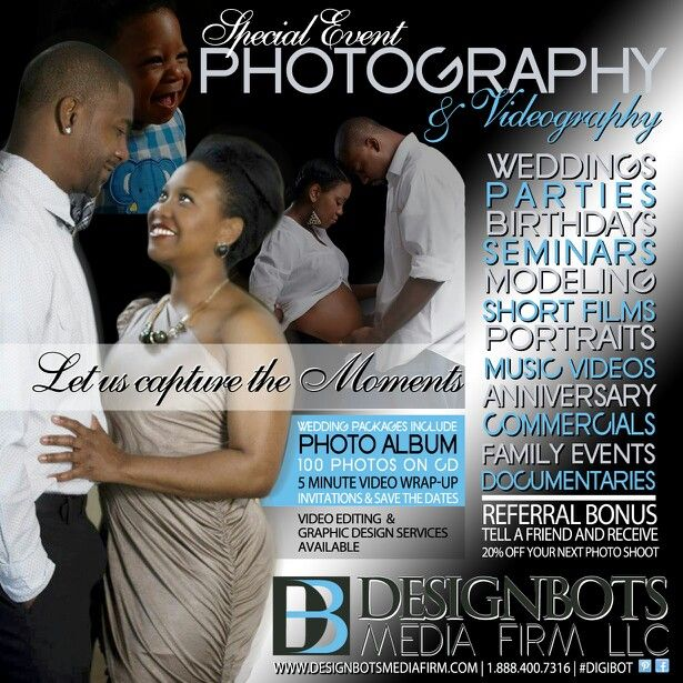 Photography and Videography Services weddings specialevents