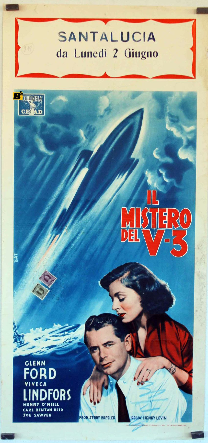 The Flying Missile 1960 Via Italy Film