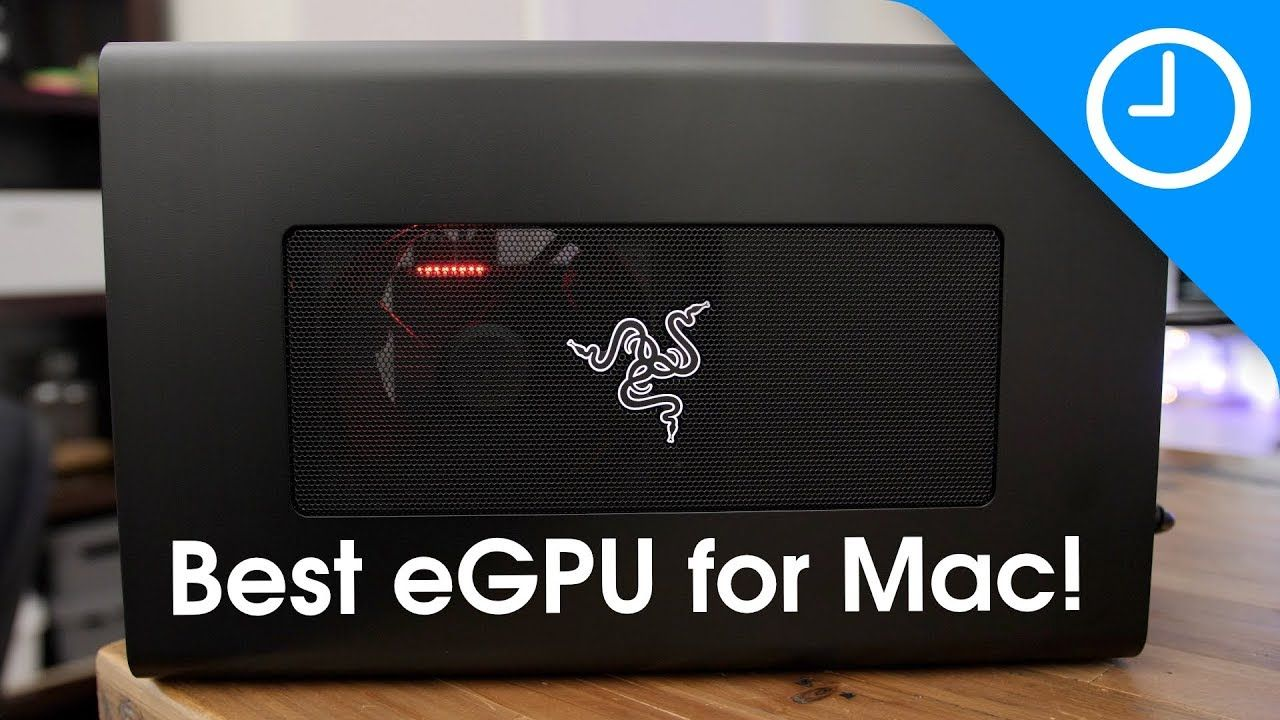 Review 300 Razer Core X The Best Egpu For Mac 9to5mac Razer Science And Technology Favorite Apps