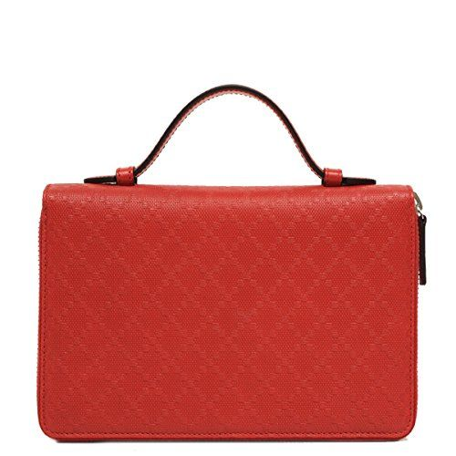 4176d6b7466 Gucci diamante leather travel document case red 336298     For more  information