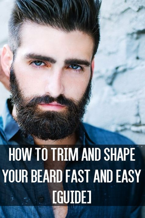 How To Trim And Shape Your Beard Fast And Easy Guide Guy Code