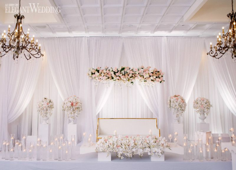 Ivory, Champagne & Blush Glam Wedding | ElegantWedding.ca