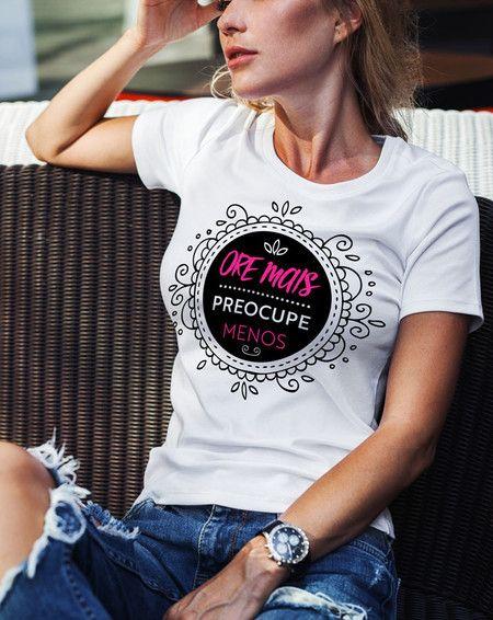 df5b0e4767 Camiseta Ore Mais