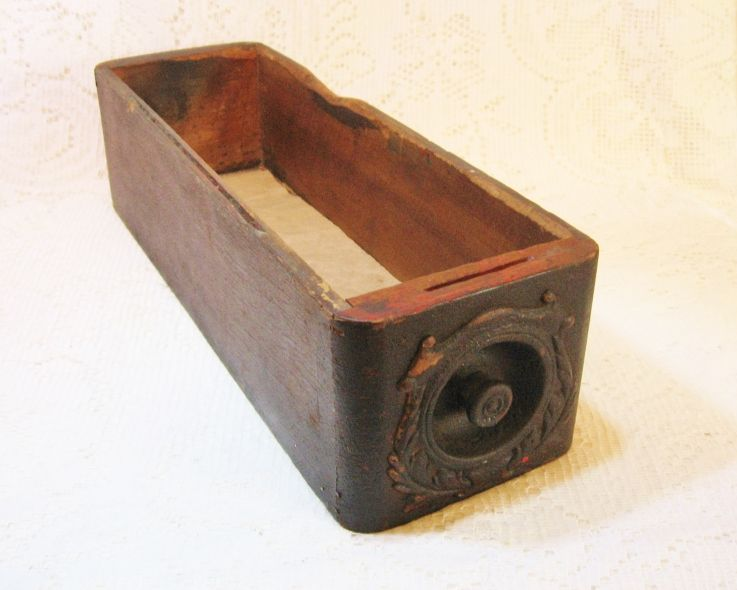 Early Sewing Machine Drawer Box ~ SOLD