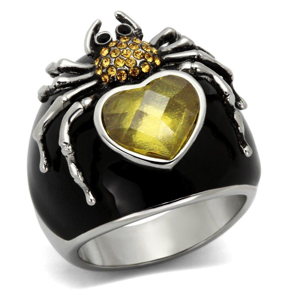 Black Widow in 2019 Cubic zirconia rings, Rings, Topaz