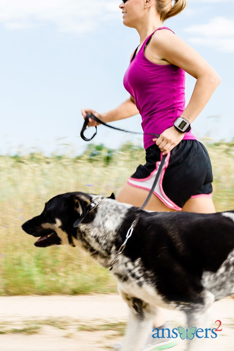 Caroline Susie, Manager of Wellness for Methodist Health System and dog lover, shares some easy ways to get fit - with your doggie alongside.