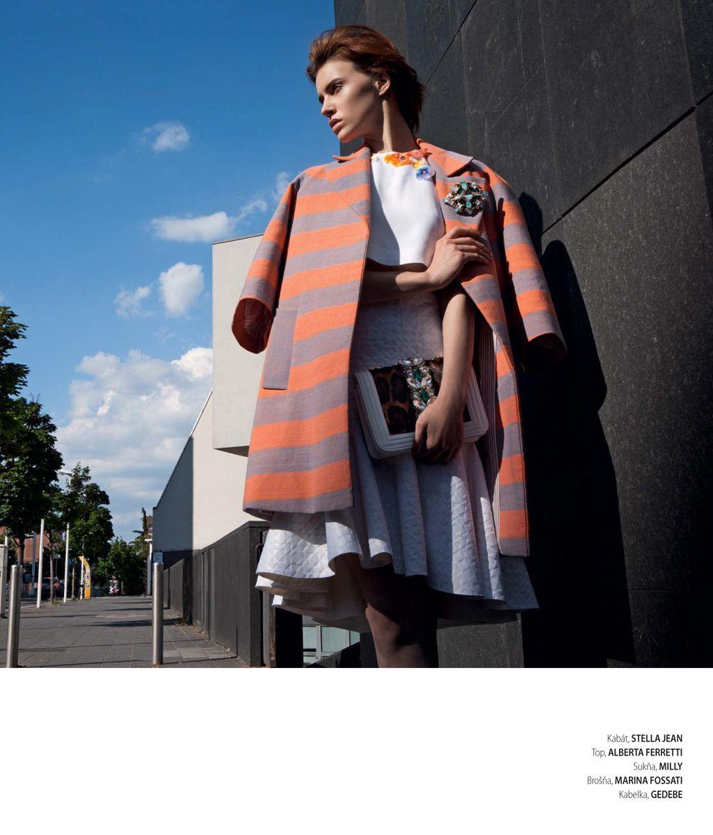 editorial for Woman magazin Stylist: Luigi Gaballo Photographer: Daniela Rettore