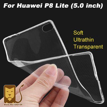 ห วเว ยp8 Liteปกคล มกรณ U Ltrathinใสปกอ อนtpu Caseป องก นสำหร บห วเว ยp8 Liteปกหล งกรณ 5 0น ว Protective Cases Case Phone Case Cover