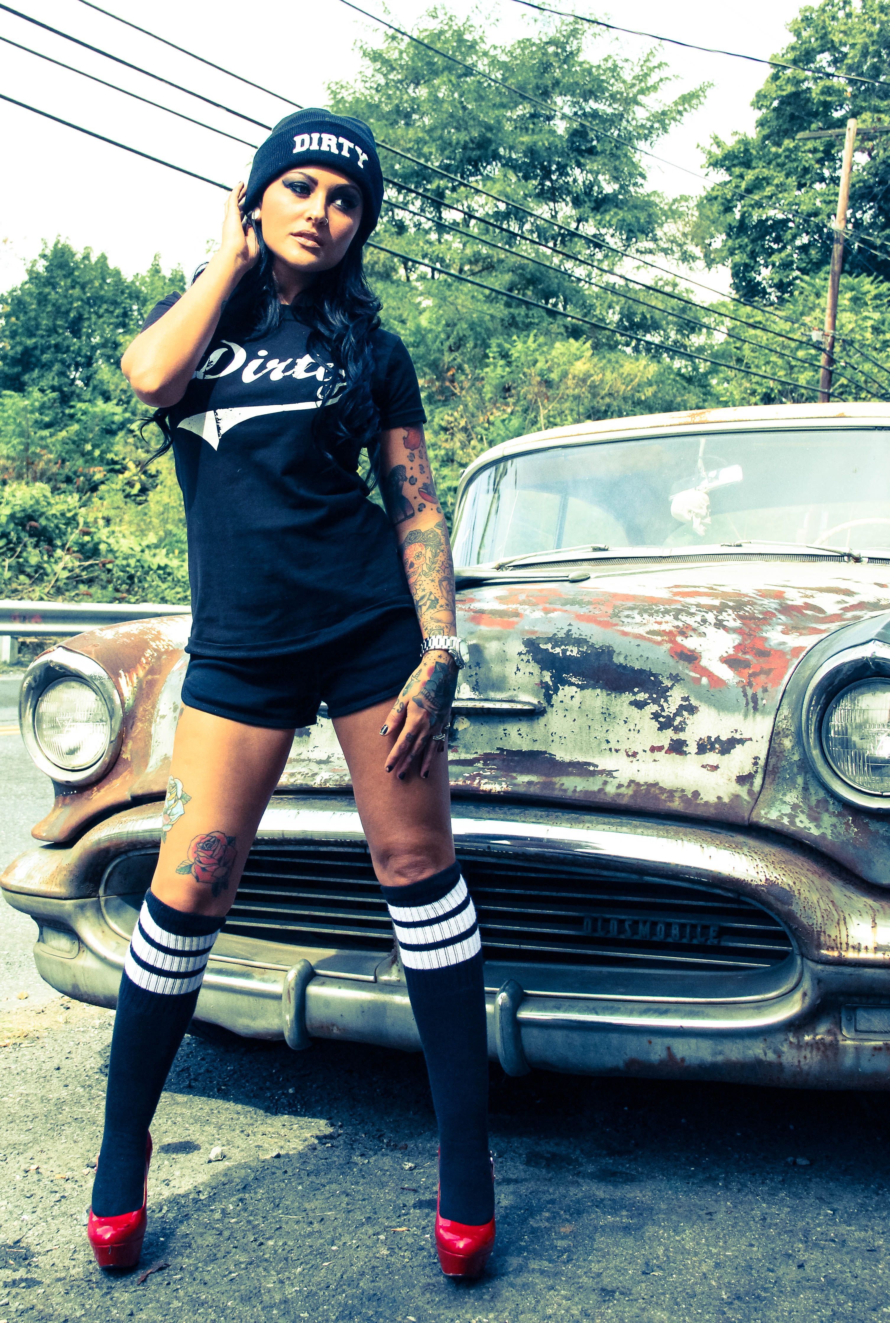 Dirty Combo comes with tee, shorts & socks. #dirtyshirty
