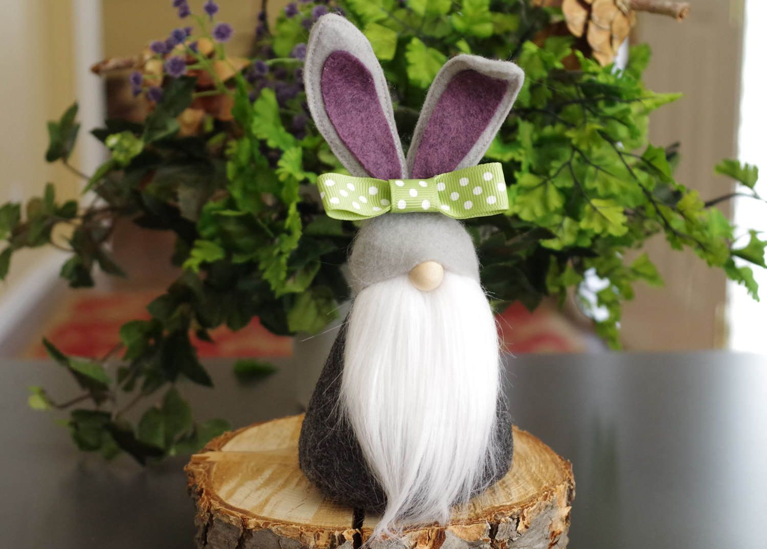 Easter Gifts Purple Gnomes