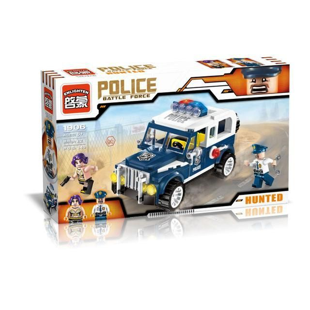 ENLIGHTEN 149Pcs City Police Series Hunted Escapee ...