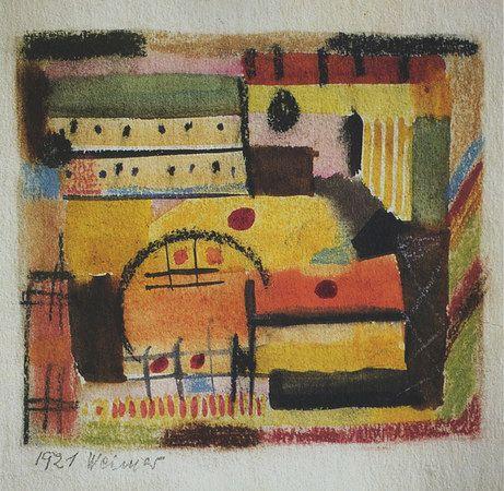 Gunta Stölzl . Untitled. 1921. Bauhaus