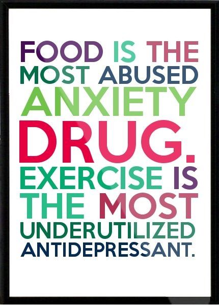about food and exercise, use and abuse