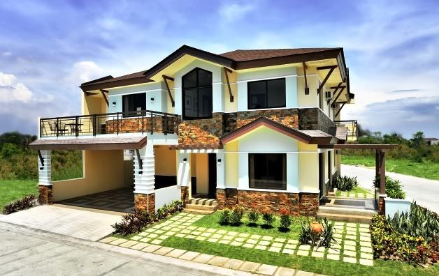Beautiful Houses In The Philippines Beautiful Townhouse In The Philippines The Best Homes In Village House Design Contemporary House Design Asian House