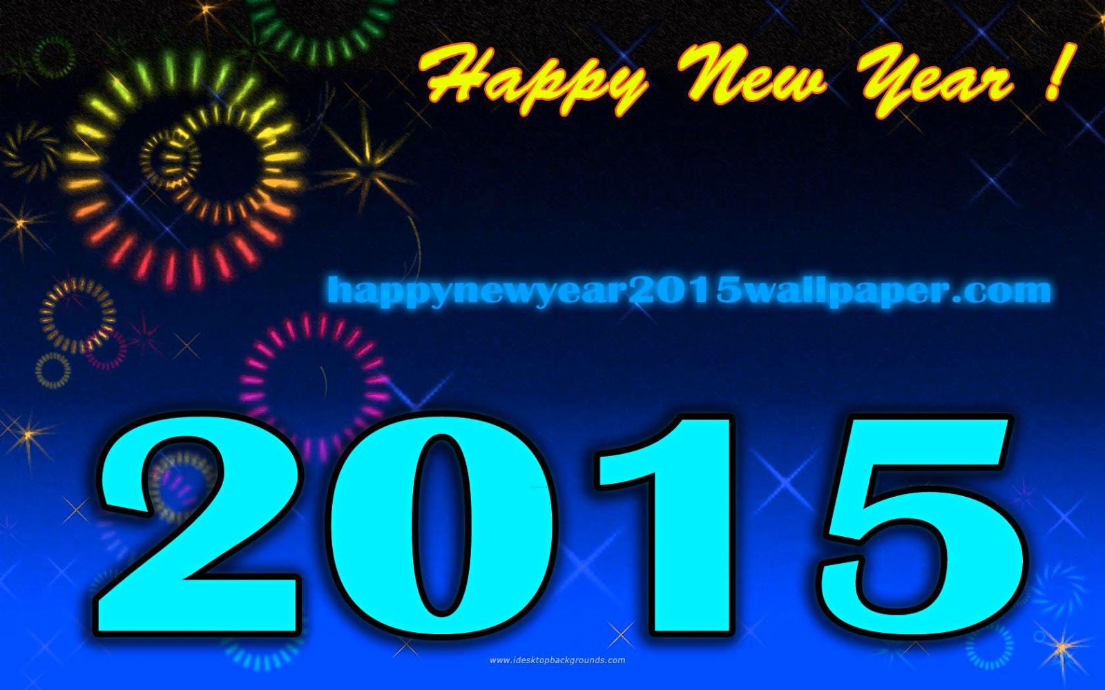 Beautiful Happy New Year 2015 Wallpaper For Greetings Happy New