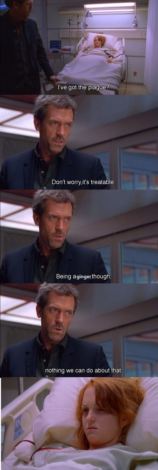 House Being House Dr House Hugh Laurie Makeup Quotes Funny