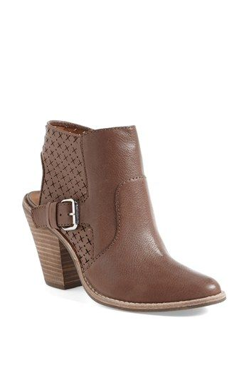 bdc8b1a5458 DV by Dolce Vita  Calin  Open Back Leather Bootie (Nordstrom Exclusive)