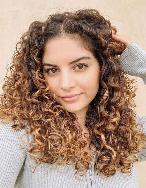 Charming Look of Curly Hairstyles for Medium Length Hair in 2020 | Curly hair styles, Medium ...