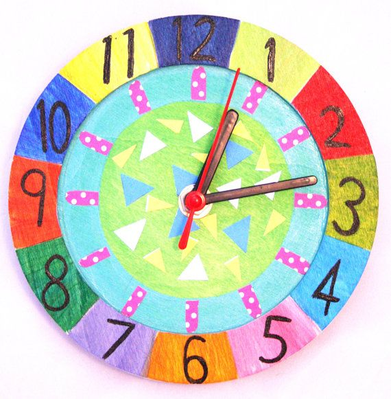 Wooden clock kit do it yourself working clock decorating kit age wooden clock kit do it yourself working clock decorating kit age 8 kids art and craft everything incl birthdays project free p p u k solutioingenieria Gallery