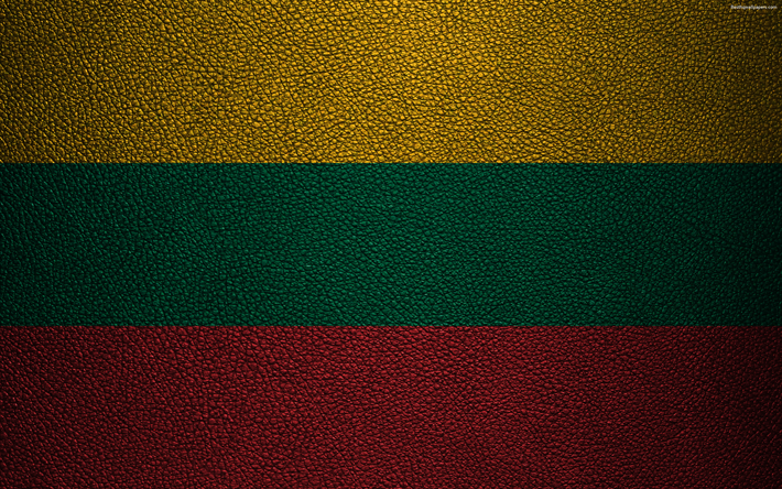 download imagens bandeira da letónia 4k textura de couro letão
