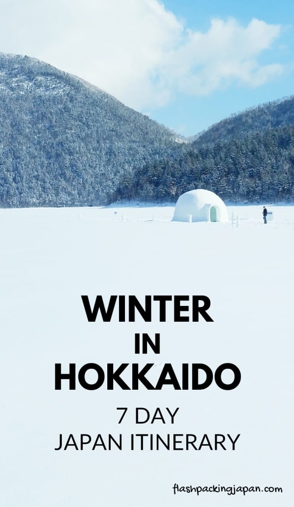 7 days in Hokkaido Japan winter itinerary with JR Hokkaido pass ⛄ Backpacking Japan travel blog   Flashpacking Japan