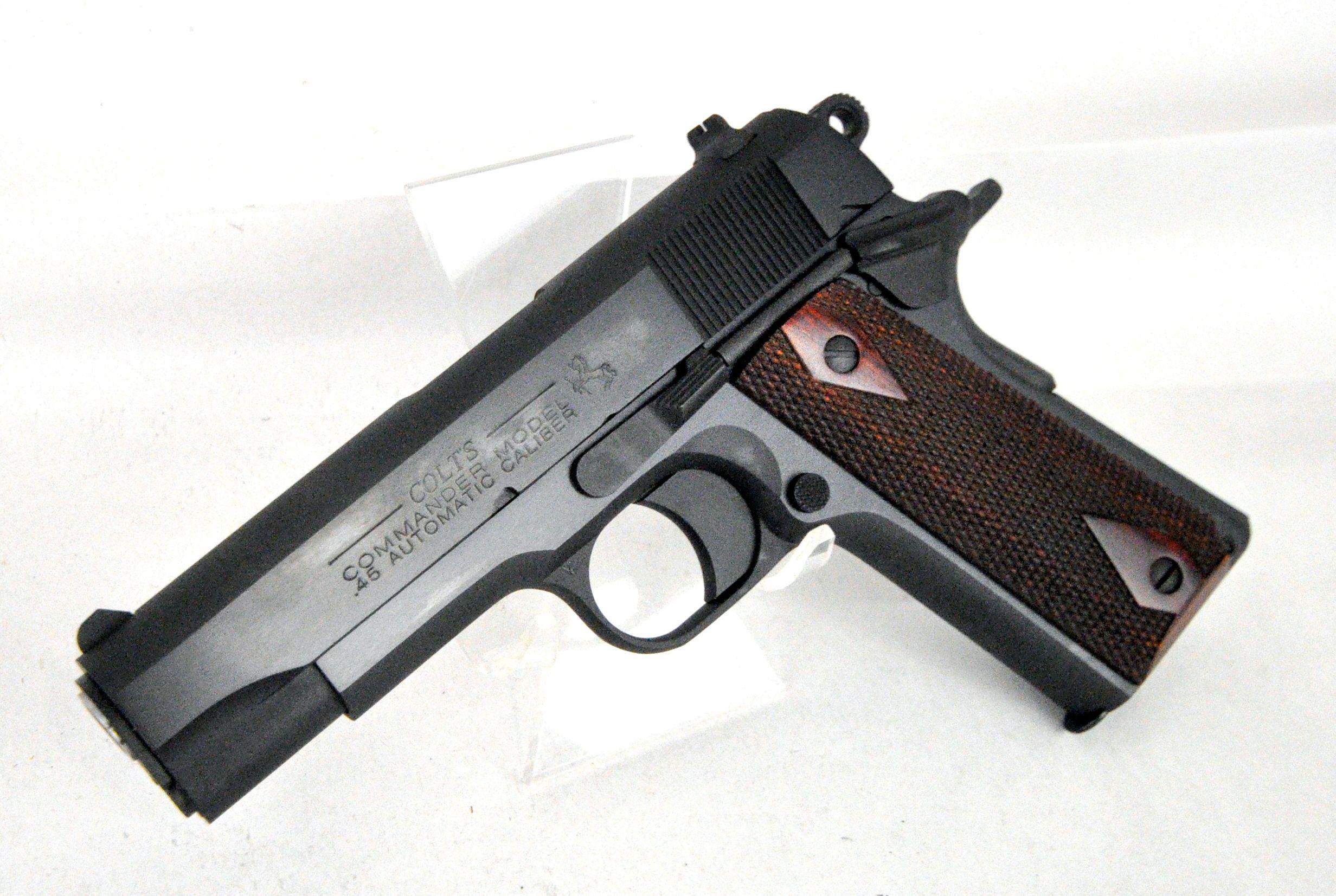 Colt Combat Commander Blue .45 ACP. Model O4691. This Combat ...