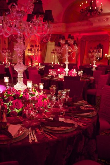 Valentine S Day Luxury Wedding Lighting And Decor Pleasantdale