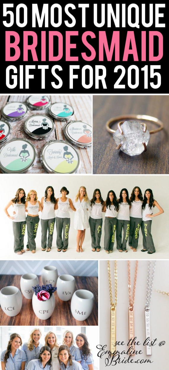 Bridesmaid Gifts 2017 Best Ideas