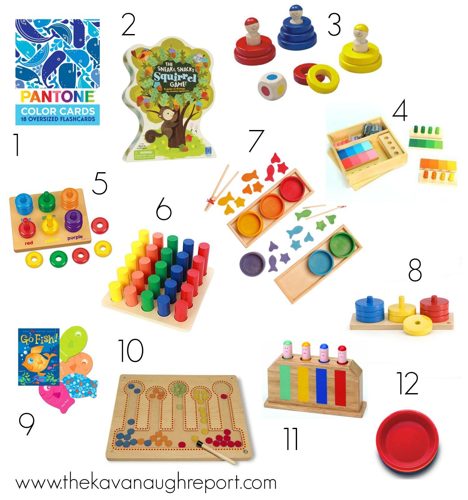 Color Sorting for Montessori Toddlers   Montessori toddler ...