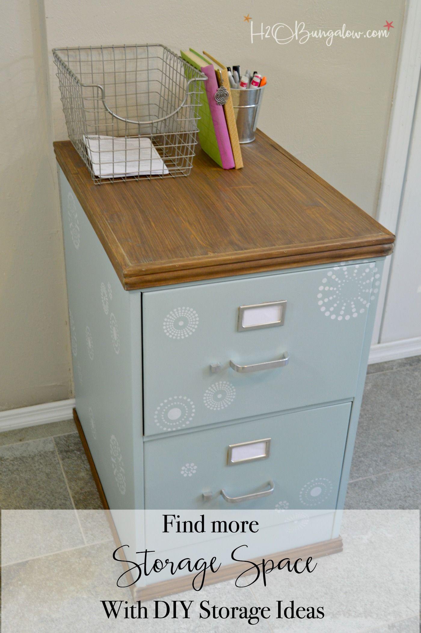Find More Storage Space with DIY Storage Ideas | DIY storage, Closet ...