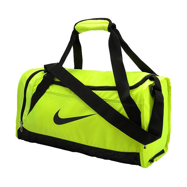 d100c4bdfe4b Nike Brasilia 6 Small Duffel Bag ( 35) ❤ liked on Polyvore featuring bags