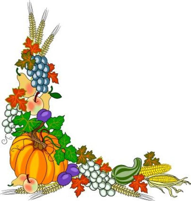 Fruit And Vegetable Border Clip Art