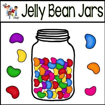 Free Jellybean Jars Clip Art Jelly Beans How To Make Scrapbook