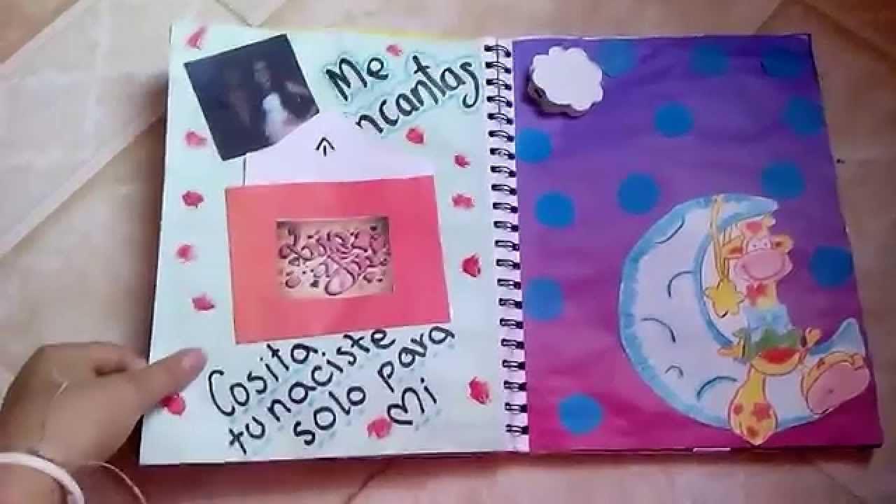 Regalo de mes para mi novio( cuaderno) | amor | Pinterest | Para mi ...