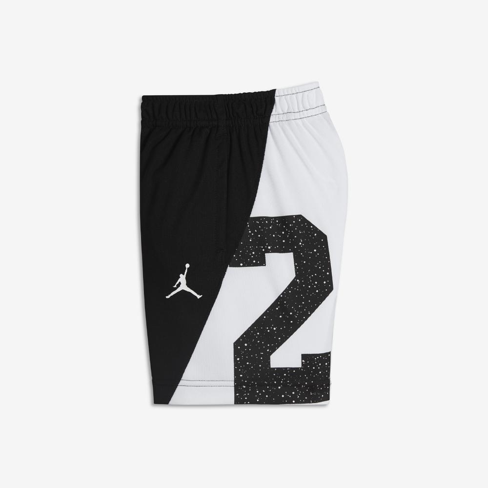 76ffc9d026f Jordan Speckle 23 Infant/Toddler Boys' Basketball Shorts, by Nike Size 3T  (Black)