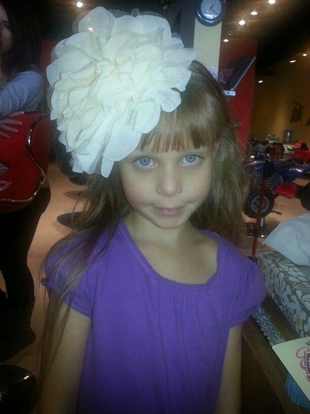 Big flowered headbands