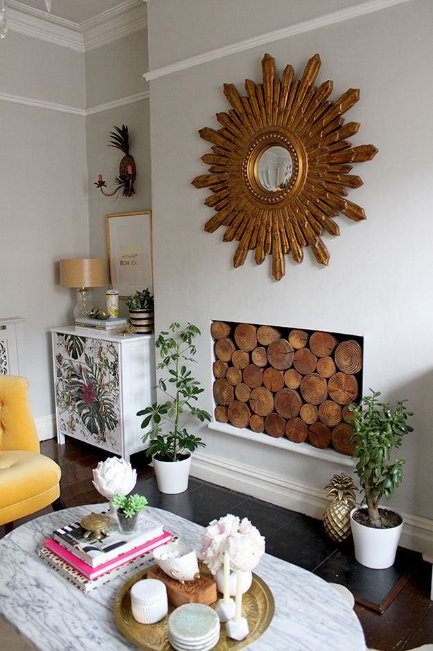 Chest Of Drawers In Alcove In Living Room