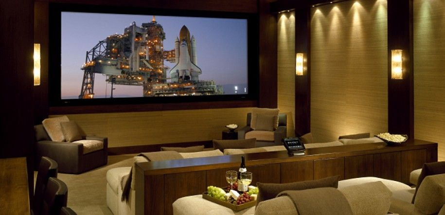 Luxury Media Room