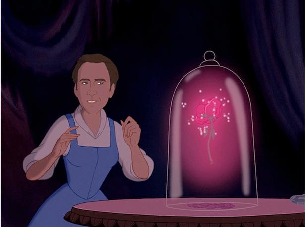 Nicolas Cage Face Swaps With Disney Princesses Every Disney Princess Nicolas Cage Disney Funny