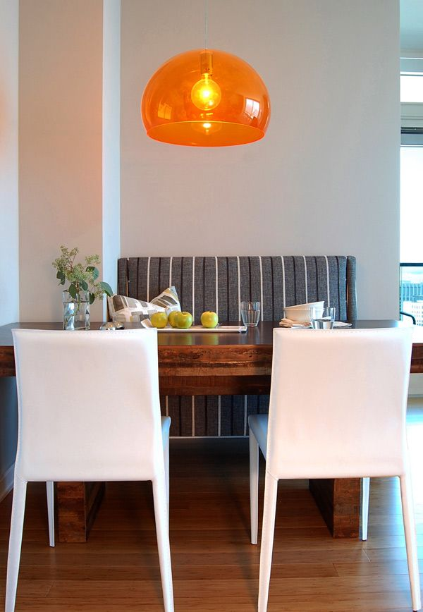 In The Dining Room Making Quite Impact Is A Kartell FL Y