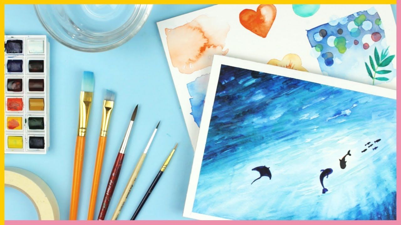Watercolor For Beginners Supplies Watercolor Techniques For