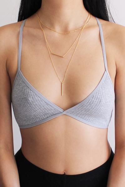 Details Size Shipping • 95% Cotton 5% Spandex • Rib knit crossback bralette • Hand Wash • Line dry • Imported • XS Fit: 30A, 30B, 32A, 32B • S Fit: 32C, 32D,34A