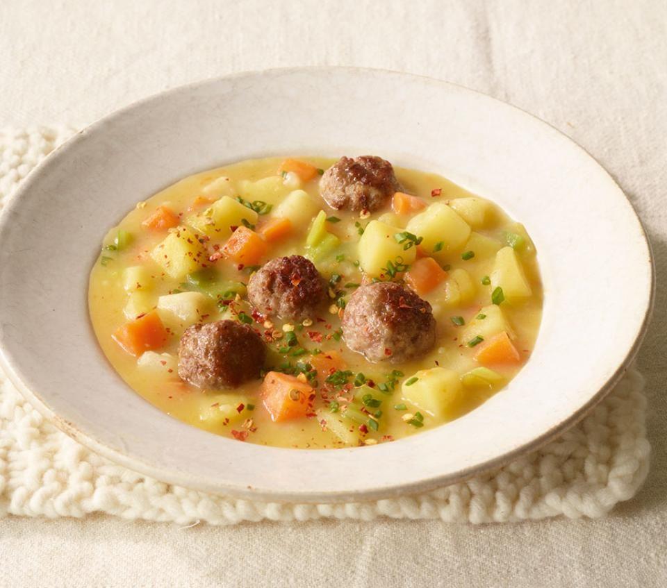 Photo of Potato Stew with Mettballs Recipe