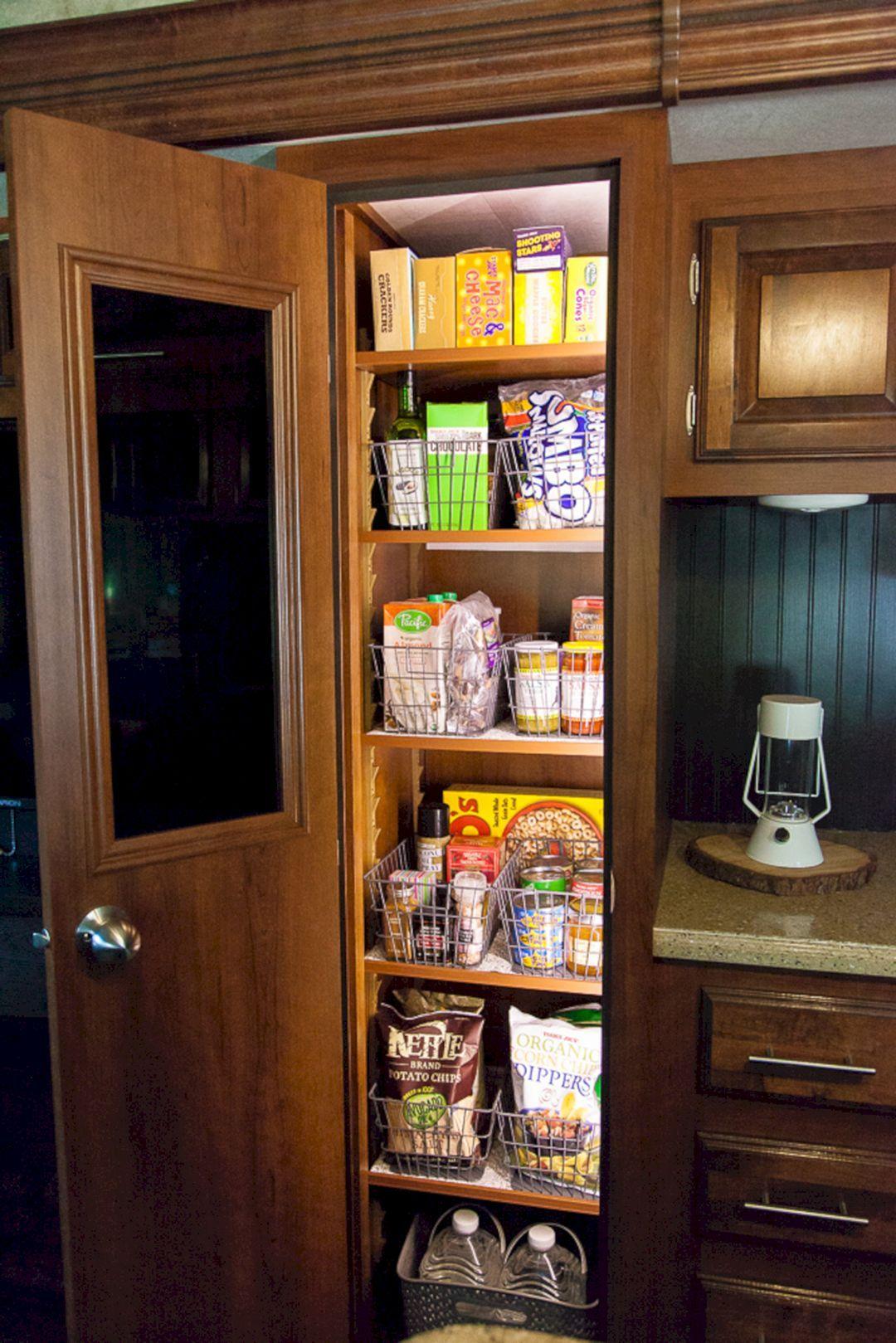 22 Best RV Kitchen Storage Design For Comfortable Summer ...