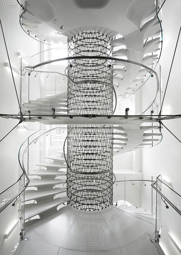 Eva Jiricna's UHPC Stairs for London's Somerset House | Projects | Interior Design