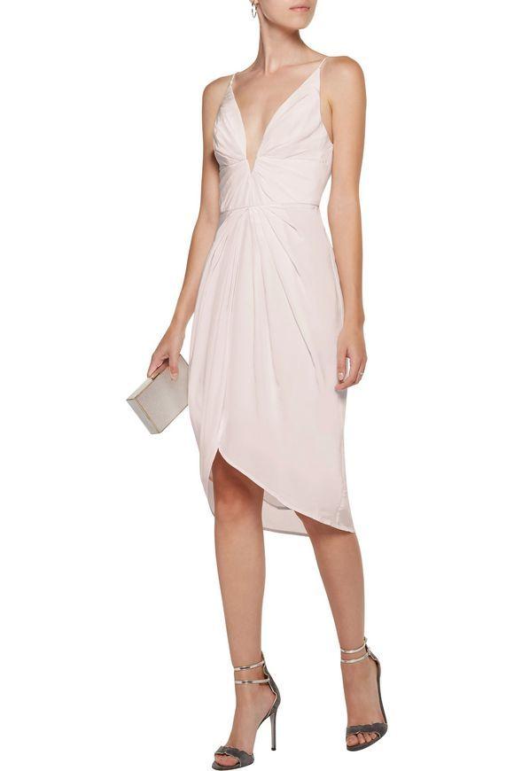 ZIMMERMANN Draped silk crepe de chine dress | Girl stuff | Pinterest | Silk  crepe, Crepes and Discount designer